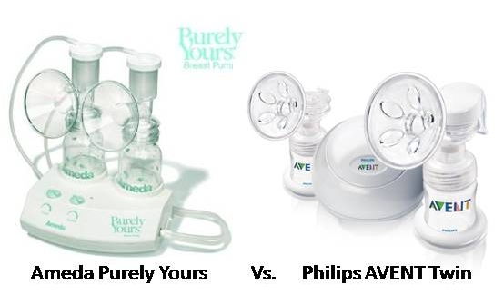Philips Avent Breast Pump Vs Ameda Purely Yours Top Breast Pumps